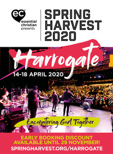 Spring Harvest Harrogate advert