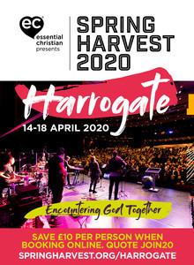 Spring Harvest Harrogate advert