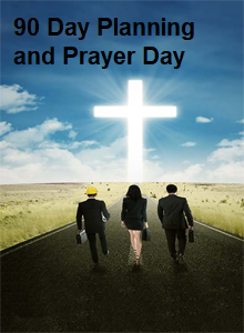 Kingdom 90 Day Planning and Prayer Days advert