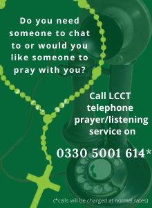 LCCT Telephone Prayer/Listening Service advert