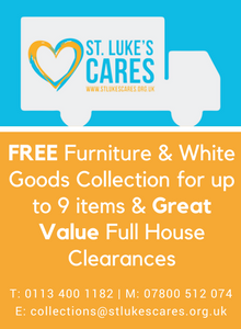St Luke's CARES House Clearance and Furniture Collection Services advert