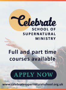 Celebrate School of Supernatural Ministry advert
