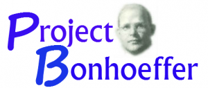 Project Bonhoeffer photo
