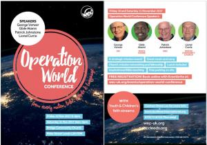 Operation World Conference 2017 photo
