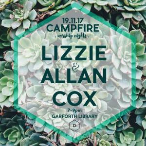 Campfire Worship Night in Garforth with Allan & Lizzie Cox photo