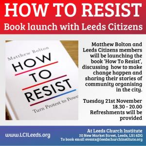How To Resist – Book Launch with Leeds Citizens photo
