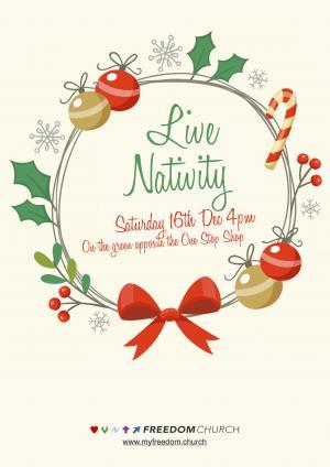 Live Nativity photo