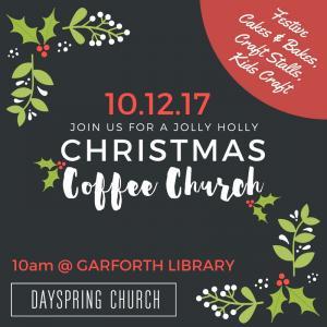 Christmas Coffee Church photo