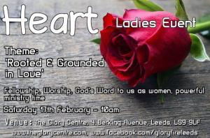'HEART' Ladies Event 'Rooted and Grounded in Love' photo
