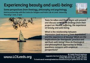 Experiencing beauty and well-being: some perspectives from theology, philosophy and psychology photo
