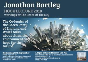 Jonathan Bartley: Working For The Peace Of The City photo