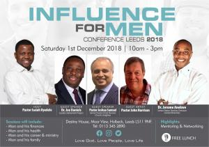 Influence For Men Conference Leeds 2018 photo