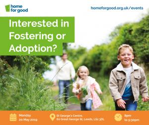 Home for Good Fostering and Adoption Information Evening photo
