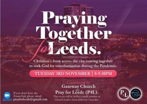 Praying together for Leeds (Coronavirus focus) photo