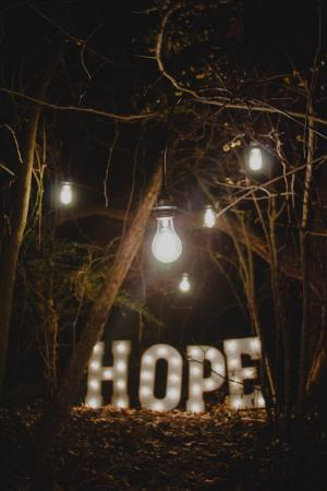 Hope and Creativity – one of a series of online events for Lent photo