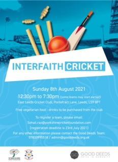 Interfaith Cricket photo