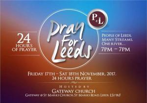 24hours Pray for Leeds - November photo