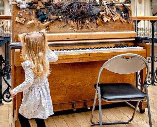 'Meet the Artist' Creative Workshop - Leeds International Piano Competition Piano Trail 2021 photo