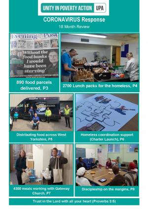 Unity in Poverty Action, Coronavirus / 18 Month Review Newsletter photo